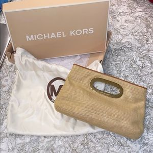 {Michael Kors} Clutch with handle